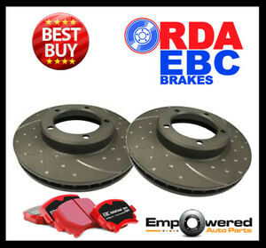 DIMPL SLOT FRONT DISC BRAKE ROTORS+PADS for Range Rover Sport 5.0L 375Kw 2013 on