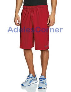 NWT Nike Mens XL Dri-Fit Team Fly Un-pocketed Training Shorts  Red 361056 657