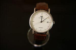 IWC STAINLESS  STEEL WATCH  EXCELLENT CONDITION-VERY NICE WATCH-CASUAL OR DRESS