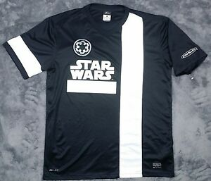 RARE EXCLUSIVE STAR WARS JAKKS PACIFIC NIKE DRI FIT JERSEY SHIRT MEN'S LARGE EUC