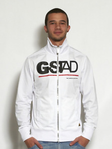 G-STAD SPORT MODEL MEN JACKET - WHITE COLOR - SIZE SMALL