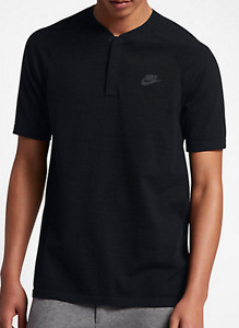 Nike Sportswear Dry Premium Tech Knit Pack Modern Woven Polo Top shirt NSW men 1