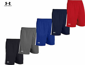 Mens Under Armour Shorts Assist 10 in Loose Fit Shorts Tea Gear 1259074 NEW