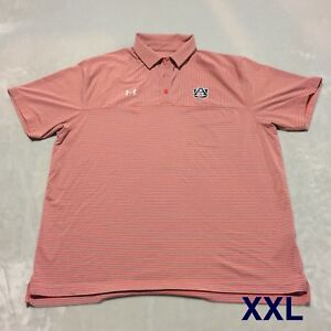 Auburn Team Issued Player Issued Under Armour XXL Shirt Polo