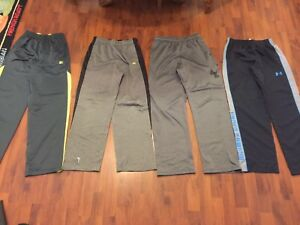 Boys Size Large Xl Athletic Pants Under Armour Russell Starter