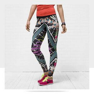 NIKE Loco4eva womens tights running athletic gym yoga tight of the moment RARE S
