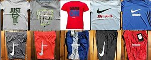 NIKE BOYS SIZE 3T ~ SHORTS ~ T-SHIRTS ~ DRI-FIT ~ NWT ~ $214 ~ 10 PIECES