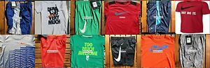 NIKE BOYS SIZE 4T ~ SHORTS ~ T-SHIRTS ~ DRI-FIT ~ NWT ~ $268 ~ 12 PIECES