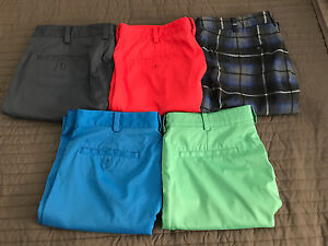 Pre-Owned Nike Golf Flat Front Shorts - Size 33 - Lot of 5
