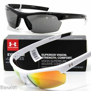NEW UNDER ARMOUR STRIDE XL SUNGLASSES UA Choose BlackGrey or WhiteOrange Multi