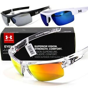 NEW UNDER ARMOUR IGNITER SUNGLASSES Choose Black  Blue  Clear UA Sport