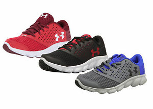 Under Armour Boys Shoes MICRO G RAVE GRADE SCHOOL Sneakers 1285434 NEW