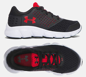 Under Armour Boys Shoes MICRO G RAVE PRESCHOOL Sneakers 1285436-001 NEW