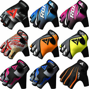 RDX Weight Lifting Gloves Gym Fitness Bodybuilding Workout Training Yoga $17.99