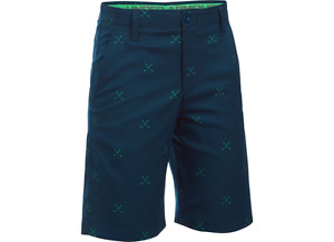 Under Armour Boys Match Play Golf Shorts  Size 16 Large  Save 30%!!  Blue