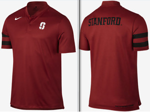 Nike Dri Fit Stanford NCAA Golf Championship Pack Transition Blade Polo tour men