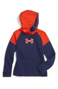 Under Armour Boys Armour Fleece Big Logo Pullover Hoody size youth X Small