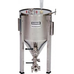 Blichmann 7 Gallon Conical Fermenter w/ Tri Clover Fittings Homebrew Beer Wine