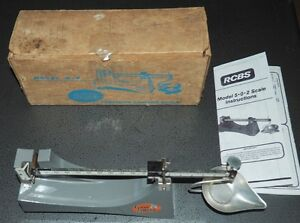 Ohaus Model D-5 Precision Reloading Scale-IB