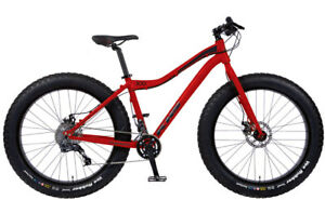 New KHS 2017 4Season 300 Fat Bike 17 in - Red