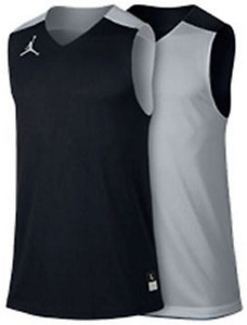 Nike Dri Fit Air Jordan Team Jumpman Reversible Basketball Practice Jersey men's