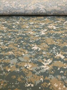 UCP Delta Digital Camo Flame Resistant Ripstop Fabric 66W Military Camouflage $10.45