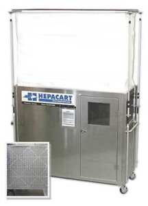 HEPACART HC74U-M Ceiling Cavity Dust Cntnmnt Unit 2 Prsn