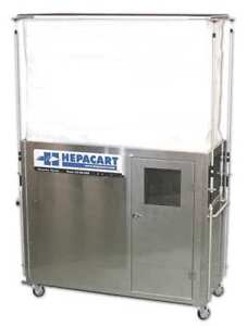 HEPACART HC74U-L Ceiling Cavity Dust Cntnmnt Unit 2 Prsn