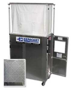 HEPACART HC55U-L Ceiling Cavity Dust Cntnmnt Unit 1 Prsn