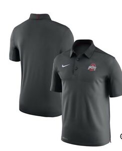 Nike Ohio State Buckeyes Elite 2017 Coaches Sideline Dri-FIT Polo All Sizes