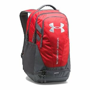 Under Armour Hustle 3.0 Backpack RedGraphite One Size