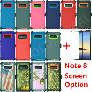 For Samsung Galaxy Note 8 Defender Case w Screen Protector amp; Clip fits Otterbox
