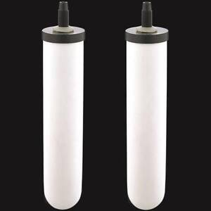 2 Ceramic Gravity Replacement Water Filters STERASYL 9