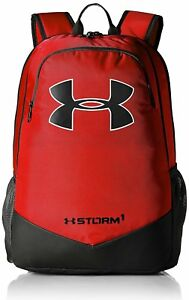 Under Armour Boys Storm Scrimmage Backpack RedBlack One Size