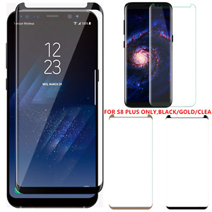 100 Pcs Lot Premium Tempered Glass Screen Protector Samsung Galaxy S8 Plus BGC