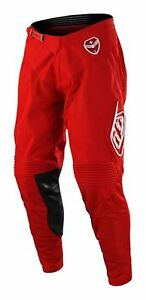 2018 Troy Lee Designs TLD SE MX Pant Solo Red Motocross Off-Road MTB