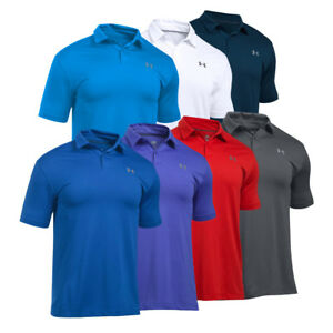 New Under Armour UA CoolSwitch Men's Golf Polos - Pick Size & Color