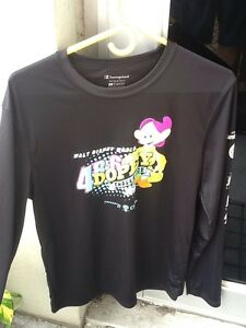 5 Walt Disney Champion running shirts men or womans size small assorted races