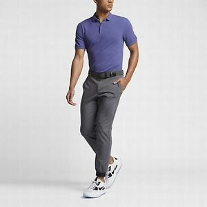 Nike Golf Transition Dry Wool Men EXTRA LARGE Golf Polo 815842-526PURPL NWT$100
