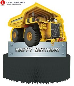 Pack of 6 Construction Birthday Zone
