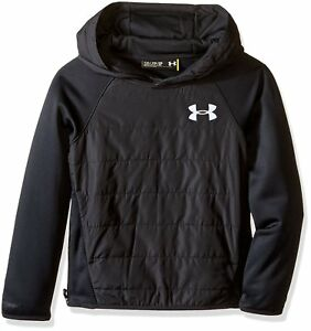 Under Armour Boys' Storm Insulated Pullover Swacket BlackBlack Youth X-Large