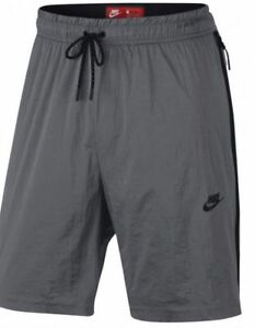 NIKE MEN'S TECH HYPERMESH SPORTSWEAR SHORTS GRAY 834345 065 SIZE MEDIUM NWT