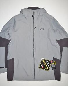 New Under Armour Mens ColdGear Infrared GTX Chugach Ski Snowboard Jacket Large