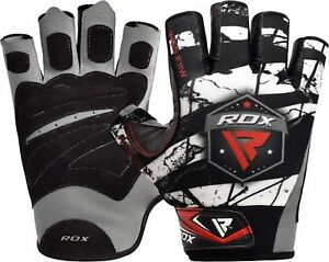 RDX Weight Lifting Gloves Gym Training Bodybuilding Yoga Fitness Workout $11.99