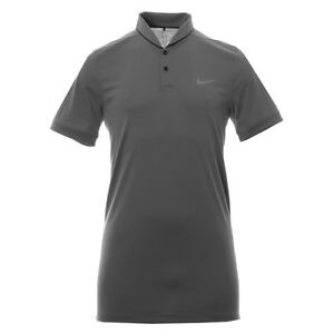 Nike Golf Modern Fit TR Dry Heather Shirt (Grey) - Large - New ~ 725555 021