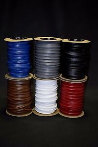 Auto Pro Welt Cord Piping Vinyl Trim Outdoor UV Upholstery 18 Colors Available
