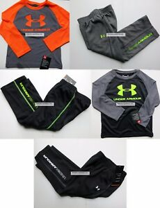 UNDER ARMOUR BOYS 3T ~ TRACK PANTS ~ LONG SLEEVE TOP ~ 5-6 PIECES ~ NWT hoodie