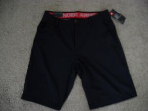 Under Armour Heat Gear Men's Match Play Golf Shorts Black BRAND NEW Size 34 NWT