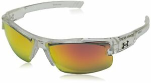 Under Armour Nitro L Youth Large 8600048-141441 Sunglasses Shiny Crystal Clear