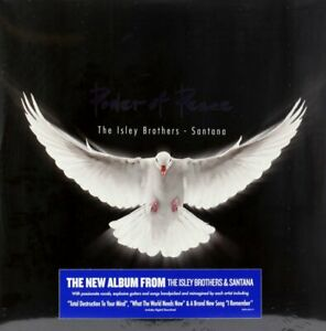 The Isley Brothers Santana Power of Peace Vinyl Record LP *NEW* GBP 27.95